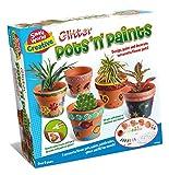 Small World Toys Creative - Glitter Pots 'N' Paints Craft Kit