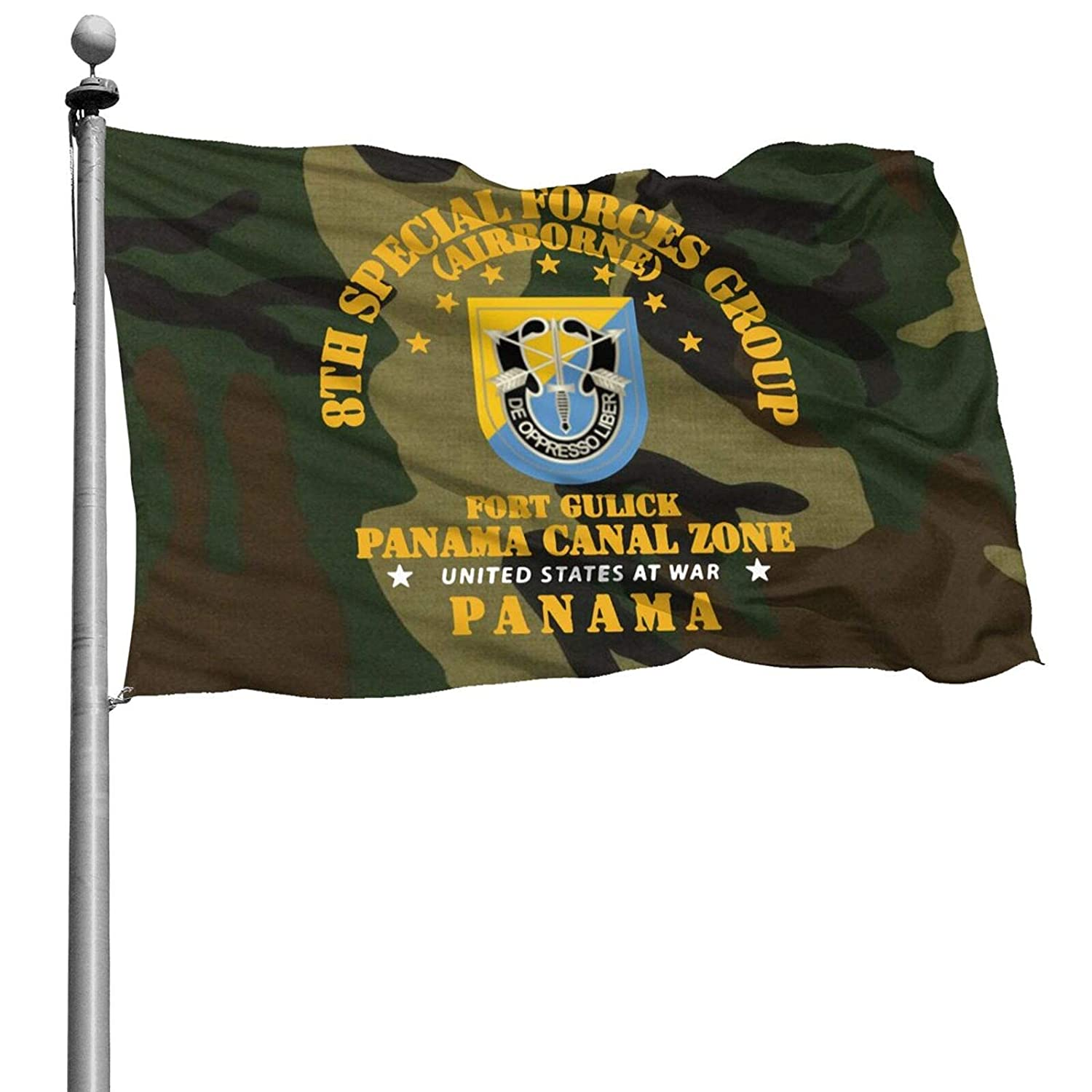 8th Special Forces Group of The United States Army was Established Banner Flags Garden Flag Home House Flags Outdoor Flag USA Flag 4x6 Ft