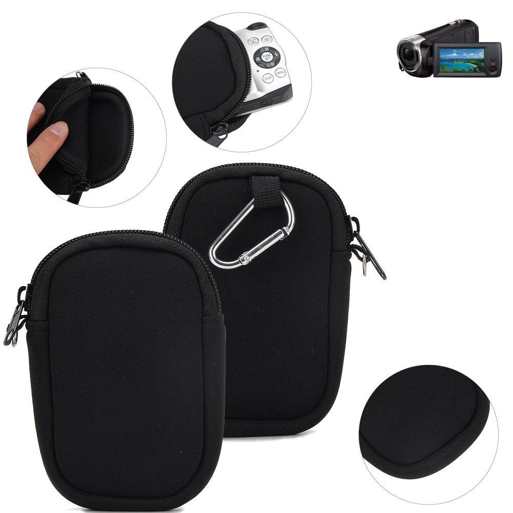 K-S-Trade Funda Protectora de Neopreno para cámara compacta Sony ...