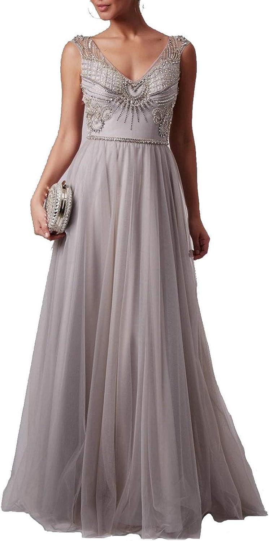Mascara Silber mc19 v Hals perlen top Kleid: Amazon.de: Bekleidung