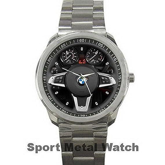 Relojes de pulsera para hombre, diseño de BMW Z4 FRYSC001 Steering Wheel for Sport Metal