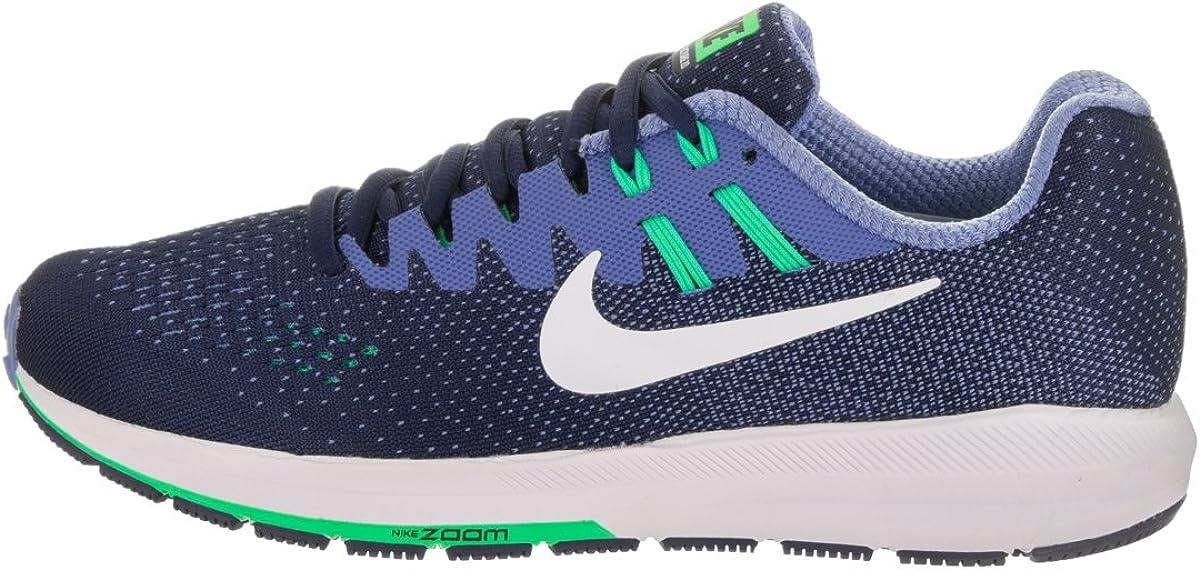 Zapatillas de running Nike Womens Air Zoom Structure 20 binarias azul / blanco / polar 8.5 Mujeres EE. UU.: Amazon.es: Zapatos y complementos