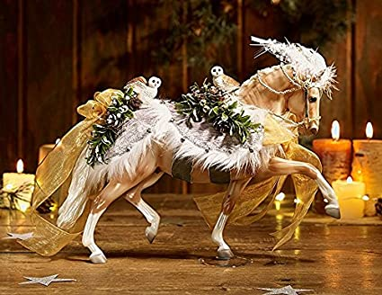 breyer winter wonderland 2017 holiday christmas horse limited edition - Christmas Horse