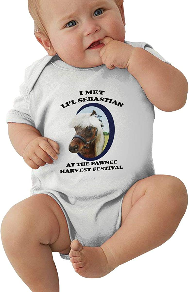 Andea Parks /& Recreation LiL Sebastian Soft and Comfortable Short Sleeve Baby Bodysuit