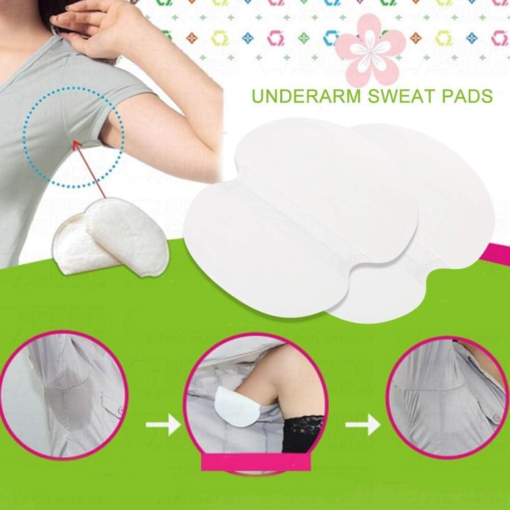 Pastiglie assorbenti usa e getta per la protezione unisex per il sudore delle ascelle le pastiglie di colore puro sono morbide assorbenti 10PCS