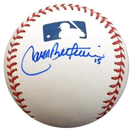 Carlos Beltran Autographed Baseball Official Kansas City