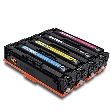 PGODYQ CF410A CF411A CF412A CF413A Cartucho de Tinta Compatible ...