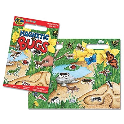 Create-A-Scene Magnetic Playset - Bugs: Toys & Games