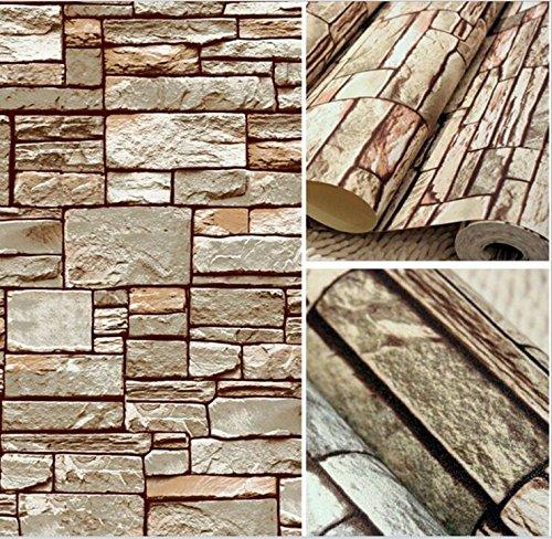 2-rolls-208-x-3937stone-vintage-3d-effect-natural-embossed-stack-stone-brick-tile-vinyl-wallpaper
