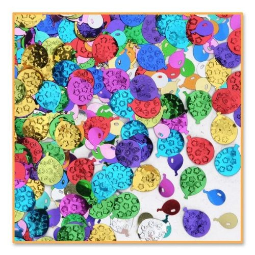 Beistle CN026 Balloon Party Confetti (Shiny Confetti)