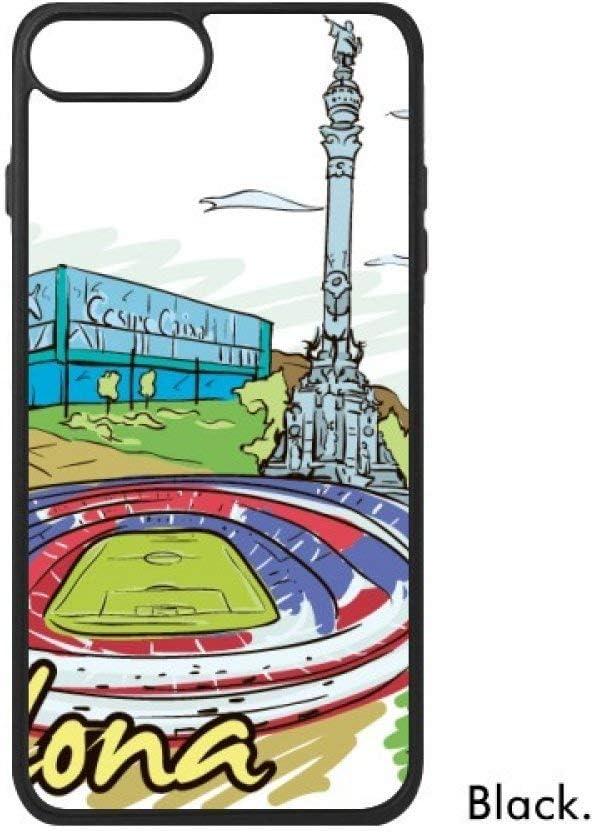 España Barcelona monumento Watercolor para iPhone 8/8 Plus casos phonecase Apple funda de regalo: Amazon.es: Electrónica