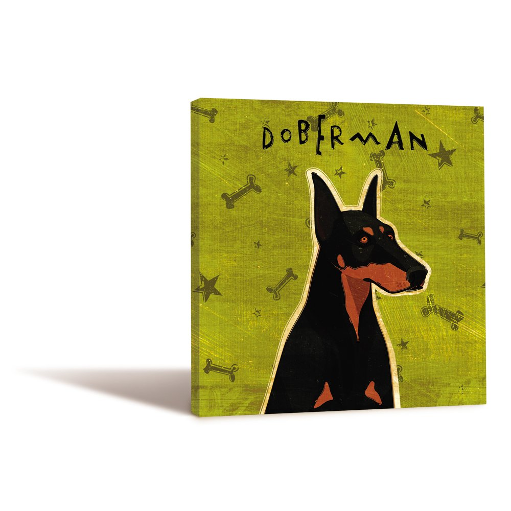 Doberman 11.25 by 11.25 by 0.5-Inch Tree-Free Greetings 84009 Eco Art Wall Plaque