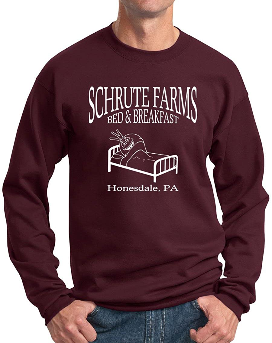 Beetwine Essentials Schrute Farms Bed & Breakfast Sweatshirt Hoodie Unisex