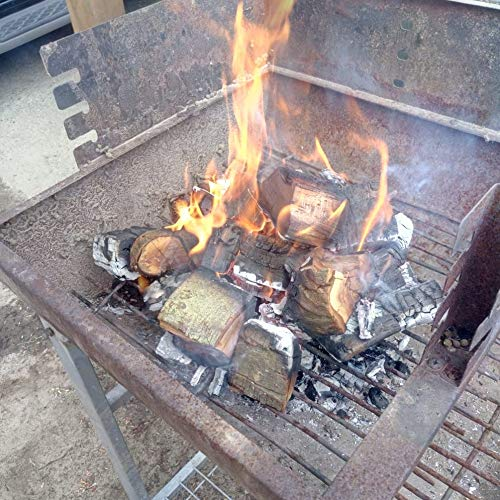 Wood Chunks Natural-Fire Landree Buche Grill-Holz 4 kg