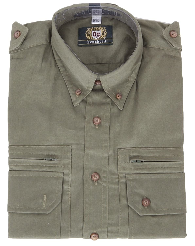 Orbis Jagd- U.Trachtenhemd Trachtengrün Uni