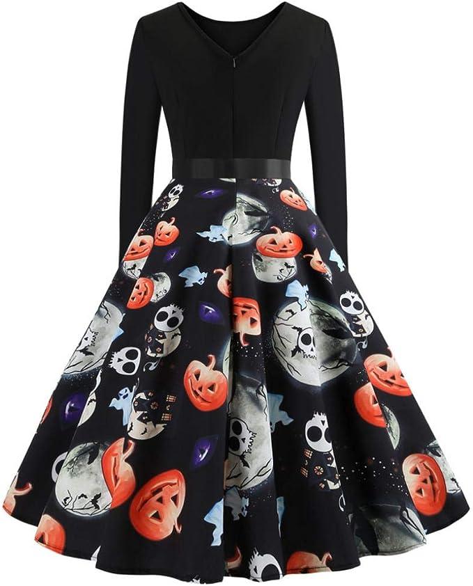 Amazon.com: Vestido de Halloween, Forthery, vestido de ...