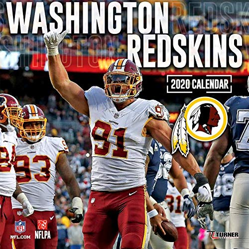 Redskins Schedule 2020.Washington Redskins 2020 Calendar Inc Lang Companies