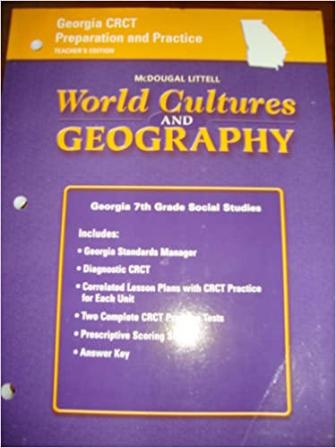 Amazoncom Mcdougal Littell World Cultures Geography Georgia