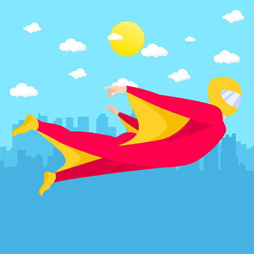 Wingsuit Ride - Catch The Wind: Circles Rider Free Games