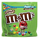 M&M'S Crispy Chocolate Candy Party Size 30-Ounce Bag