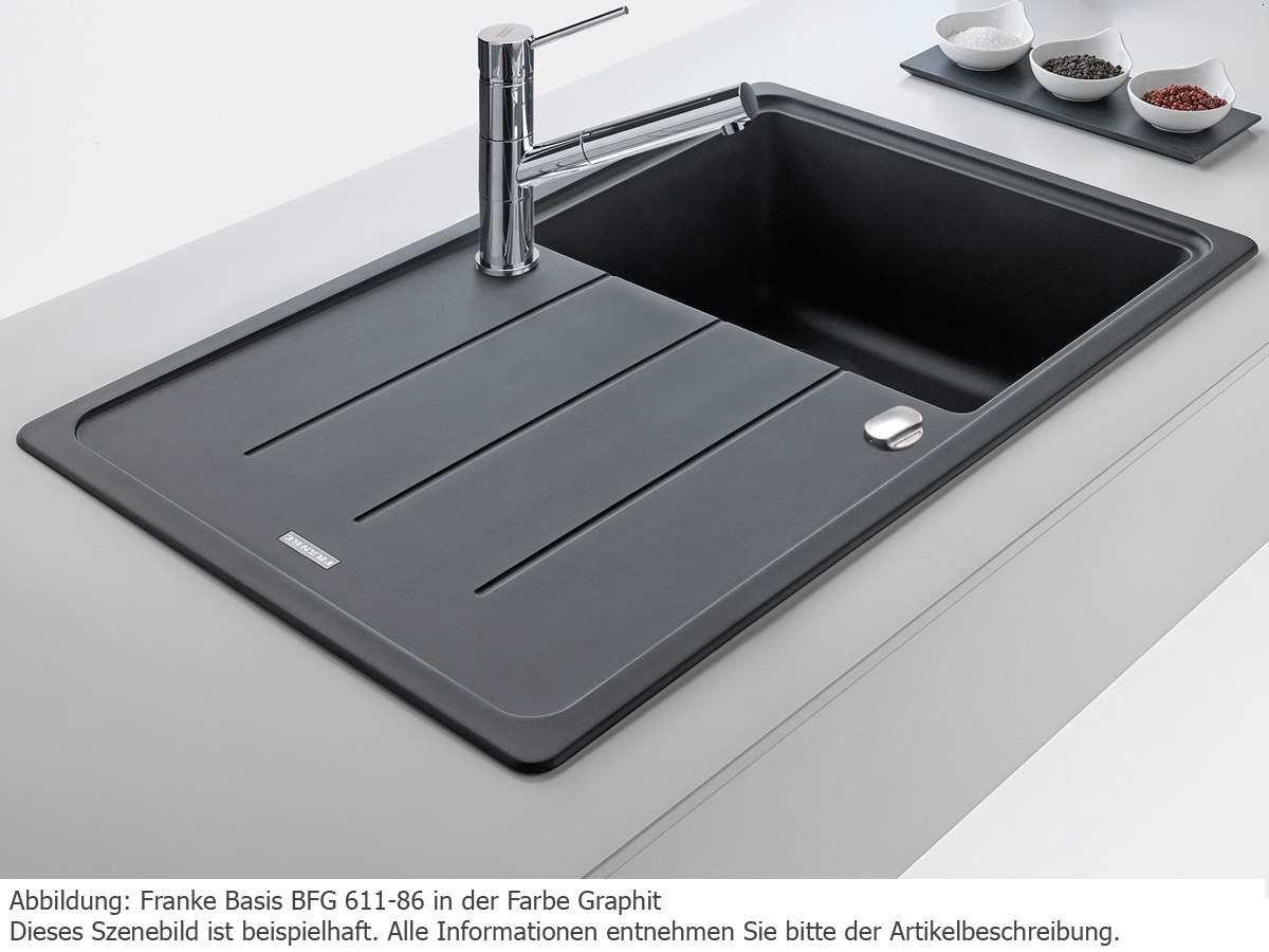 lavandino da cucina lavandino Franke Basis BFG 611/ /86/lavandino in granito colore: beige