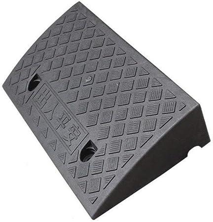 Almohadilla Cuesta Arriba, Almohadilla Triangular de plástico Negro Jardín Patio Rampas de Paso Rampas de bordillo de Motocicleta Altura: 5-9.5CM (Color : Black, Size : 50 * 27 * 9CM): Amazon.es: Hogar