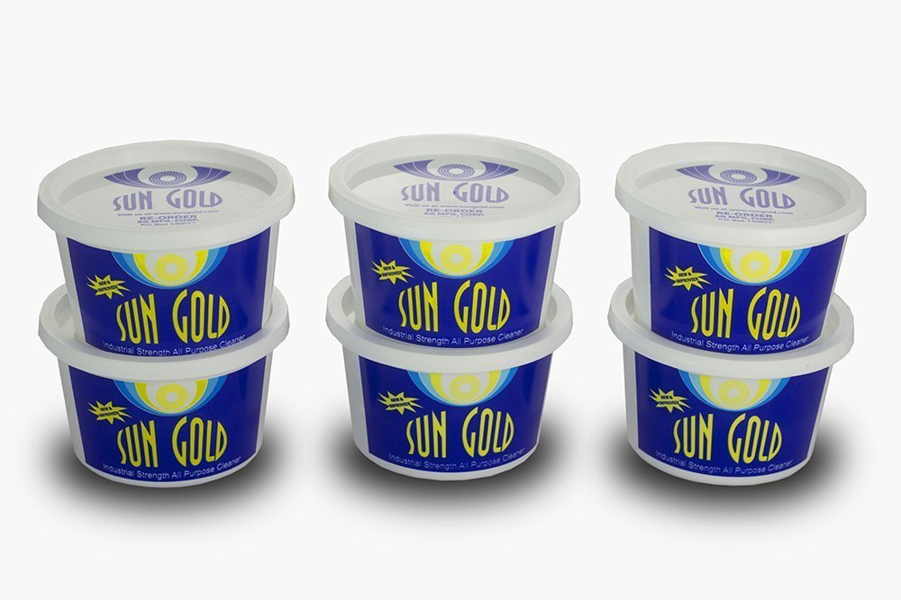 Sun Gold All Purpose Cleaner - Super Concentrated - 6 pack of pints
