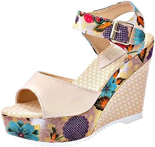 | Women's Bohemia Wedges Sandals | Platforms