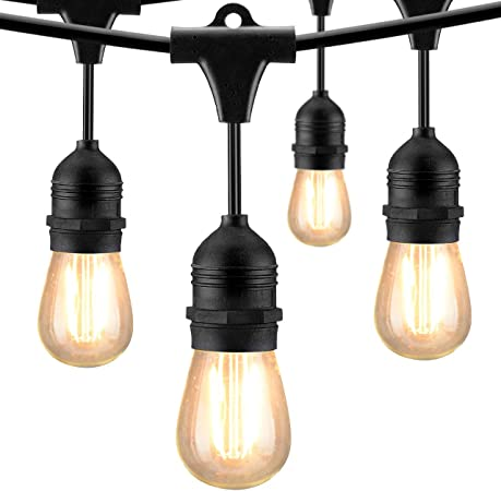 Amazon.com: Cymas cadena de luces LED exterior resistente a ...