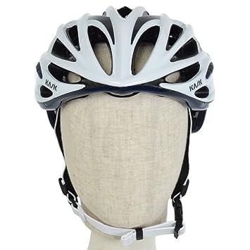 Kask - Mojito 16 - Casco para Bicicleta, Adultos, Blanco/Azul (White
