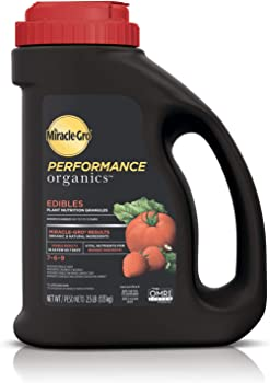 Miracle-Gro Performance Granules Fertilizer For Vegetable Garden