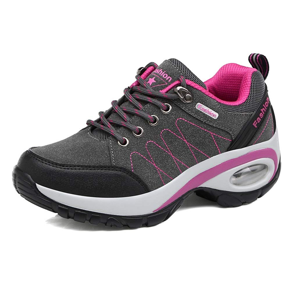 Damen-Turnschuhe Herbst Winter neue Reise-Schuhe Mode-Trend Frauen Sportschuhe Outdoor Air Cushion Schuhe (Farbe   B Größe   37)