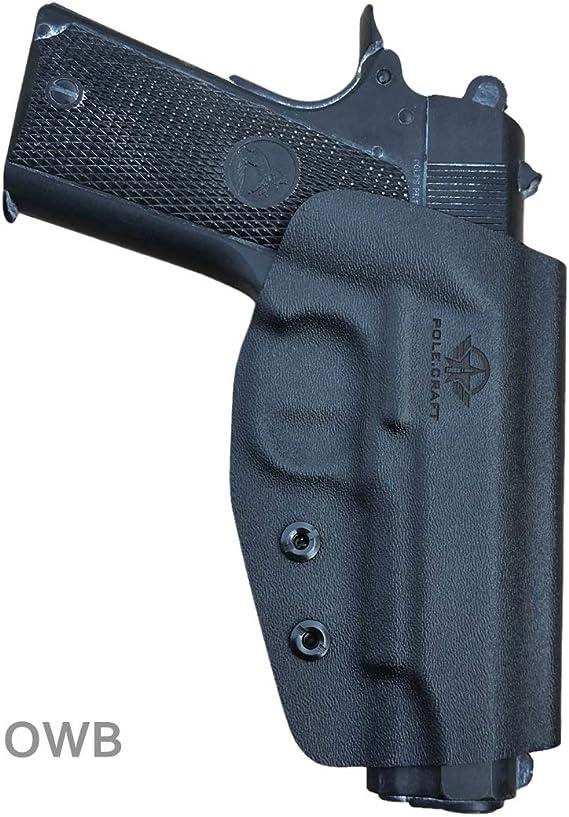 Kydex OWB Holster Fits: Colt Commander 1911 .45 / 9mm / 4.25