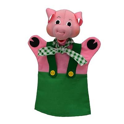 ABA 28cm Cochon kvida Marionnette à Main (Multicolore)