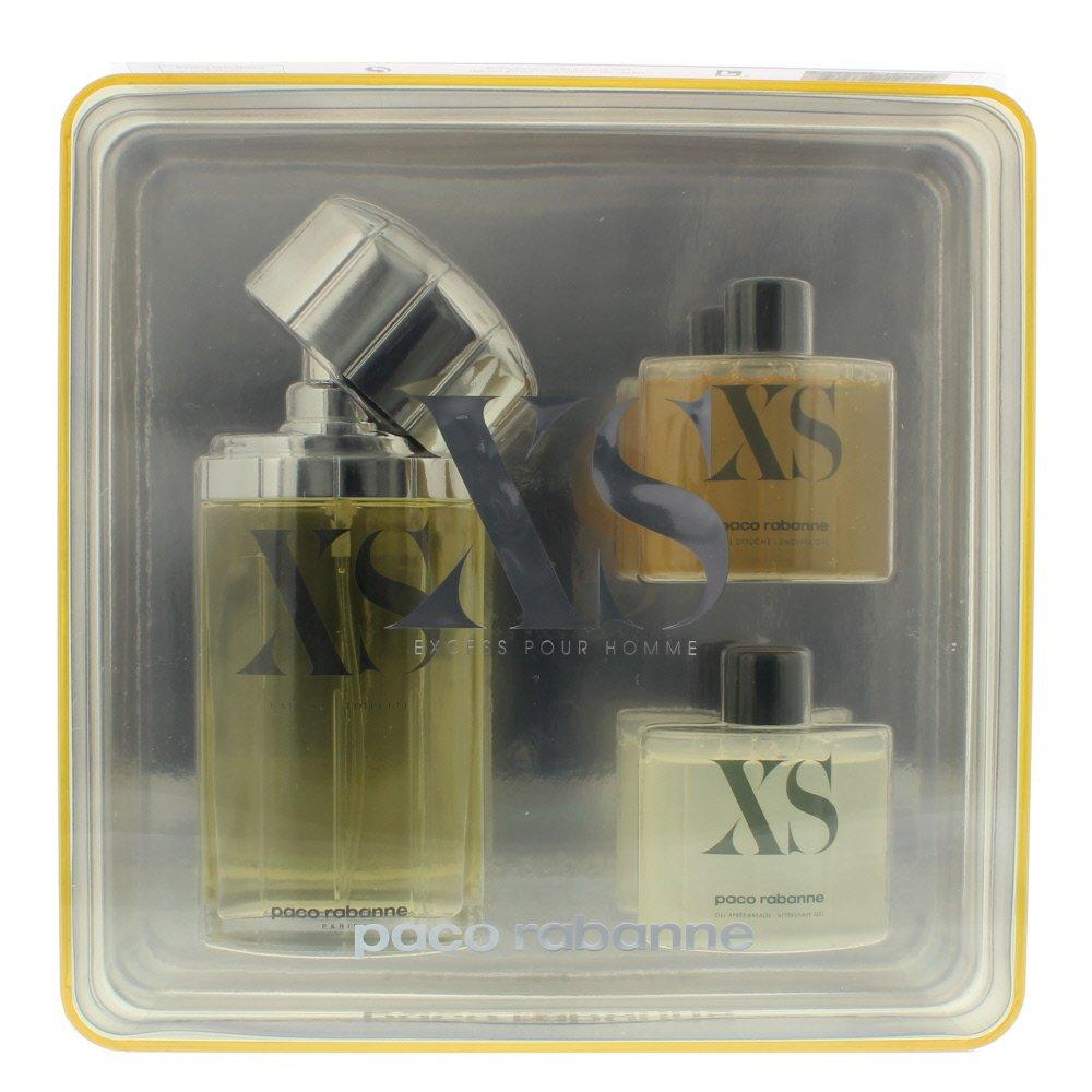 Gift Set / Coffret XS Paco rabanne Eau de toilette 100ml Spray / 2 x 50ml Shower gel - Gel douche