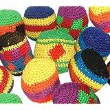 Hackey Sacks Knitted Kick Balls (Pack of 12)