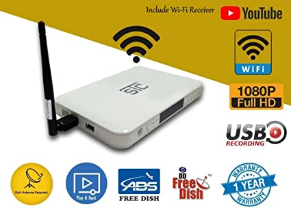 STC STB Free to Air Full HD Set Top Box with WiFi Receiver h500 (No  Recharge)