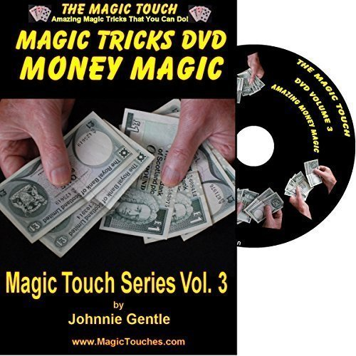 MAGIC TRICKS WITH MONEY - Amazing Money Magic Tricks DVD Volume 3 - With Full Demonstration and Explanation of Basic Skills to Enable You to Perform Many Stunning Magical Effects with Money, Coin Tricks, Tricks with Banknotes and Dollar Bills, Self Working Tricks and Easy Tricks That You Can Do To Baffle Any Audience