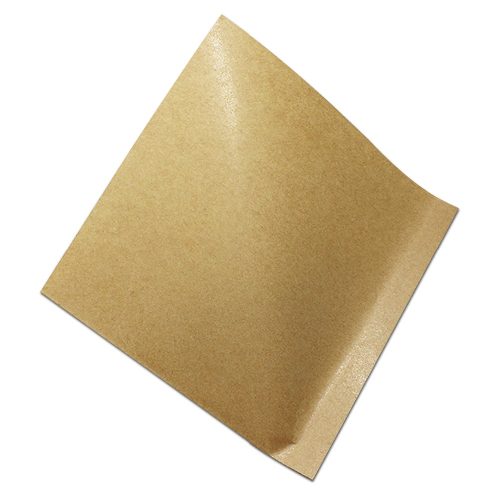 Triangular Shaped Kraft Paper Grease Proofing Paper Bag for Bakery Pastry Muffin Oil Proof Sandwich Lunch Merchandises Pack Pouch Paperboard Grease Resistant Paper Wrappers (800, 7.1x7.1 inch)