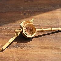 MZY1188 Colador de bambú - Colador de té