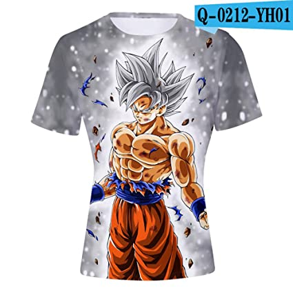 Romantic-Z Nuevas Camisetas de Dragon Ball Impresión en 3D ...