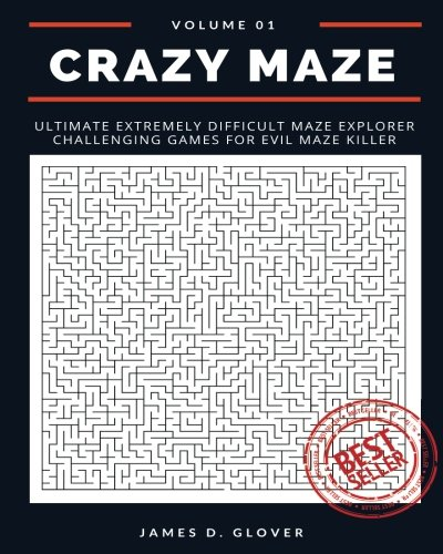 Crazy Maze: Ultimate Extremely Difficult Maze Explorer Challenging Games for Evil Maze Killer, 8