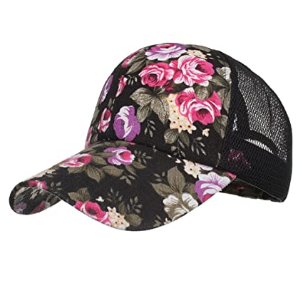 LMMVP Sombrero Sombreros de Malla de Verano Gorro de Camuflaje para Hombres  Mujeres Casual Sombreros de 5e0aab5a997