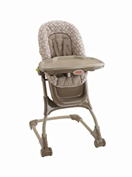 Fisher-Price EZ Clean High Chair Replacement Seat Pad Cushion Tan Leaves Amazon.ca Baby  sc 1 st  Amazon.ca & Fisher-Price EZ Clean High Chair Replacement Seat Pad Cushion Tan ...