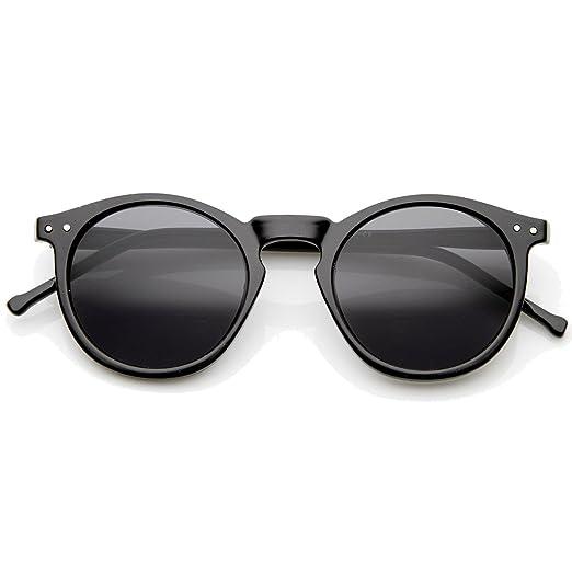 5d66a0da774 Oversized Round Thick Horn Rim Clear Lens Fashion Eye Glasses Frame  ((Black)