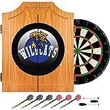 Trademark Gameroom University of Kentucky Wildcats Wood Dart Cabinet Set - Honeycomb