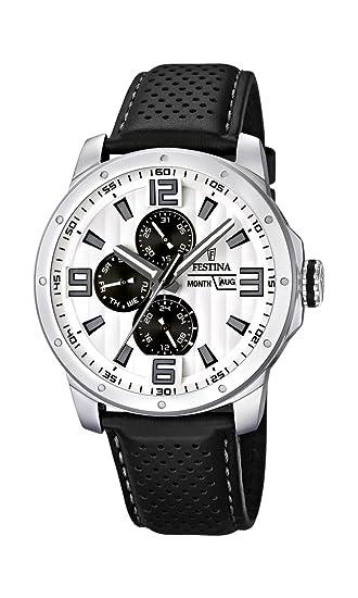 Festina Sport Multifunktion F16585/5 - Reloj analógico de cuarzo para hombre, correa de