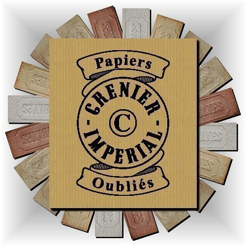 Assortment of Forgotten Incense Burning Papers from GRENIER IMPERIAL Papier Parfum d'Armé nie Paper Encens Perfume (Select quantity option from 10 to 100 burning papers) FRANCE (Delivery against Signature)