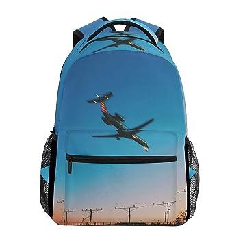 FAJRO- Mochila de Viaje para avión, Mochila Escolar: Amazon.es: Electrónica