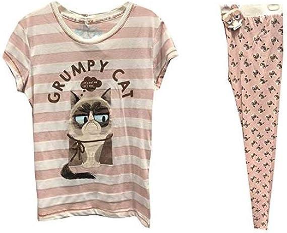 PRIMARK GRUMPY CAT - Pijama - para Mujer Beige marrón ...